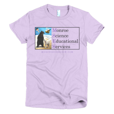 Monroe Science Educational Services Short Sleeve Women's T-Shirt (Light)