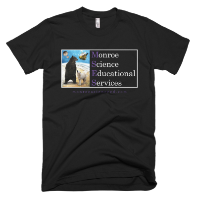 Monroe Science Educational Services Short Sleeve Men's T-Shirt (Dark)