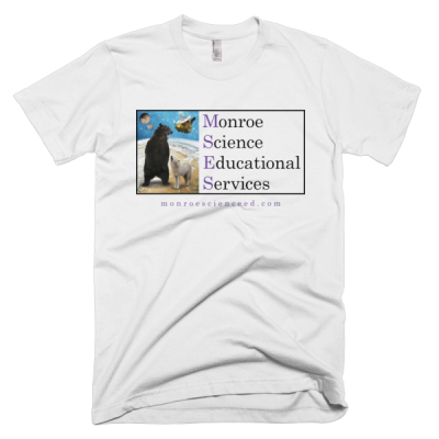 Monroe Science Educational Services Short Sleeve Men's T-Shirt (Light)