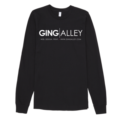 GINGALLEY Long Sleeve Unisex T-Shirt (Dark)