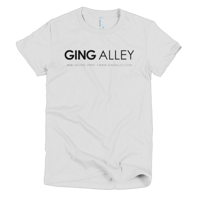 GINGALLEY Short Sleeve Women's T-Shirt (Light)