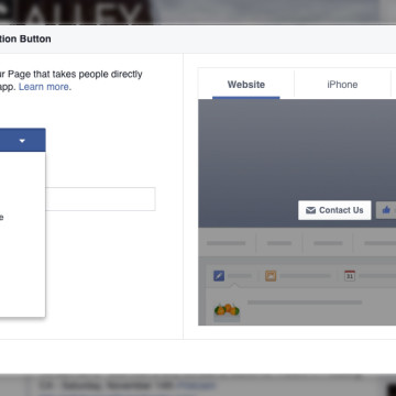 Facebook - Create a Call-To-Action Button