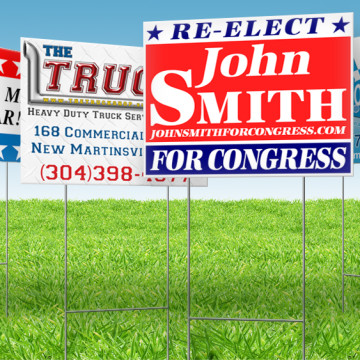 campaign signs