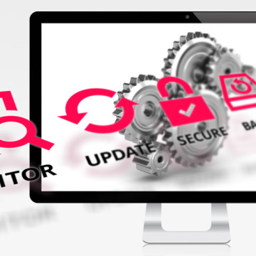 website monitoring and maintenance