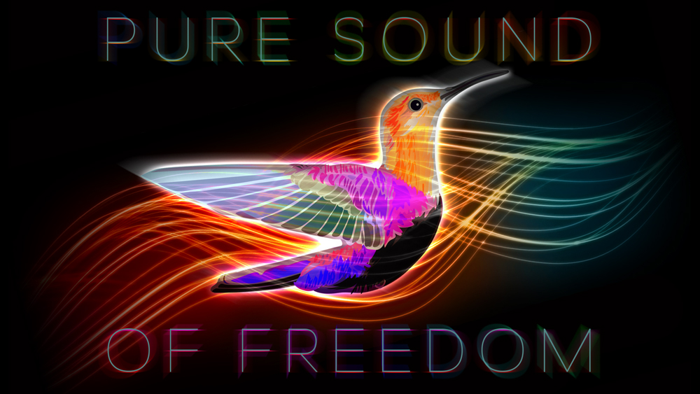 Pure Sound of Freedom - Logo Design