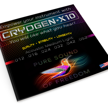 Pure Sound Of Freedom - Guitar String Design & Packaging