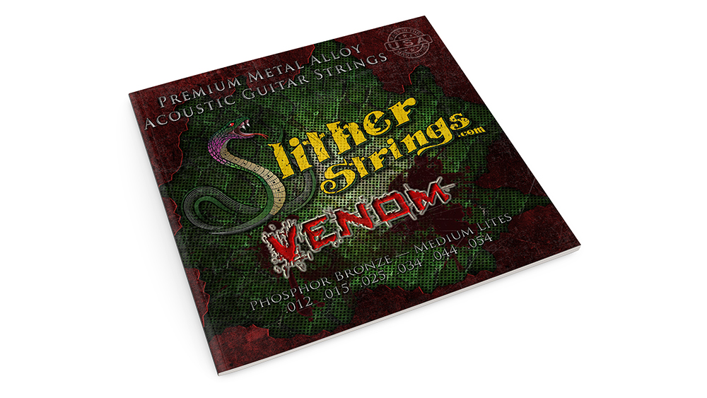 Slither Strings - Guitar String Design and Packaging