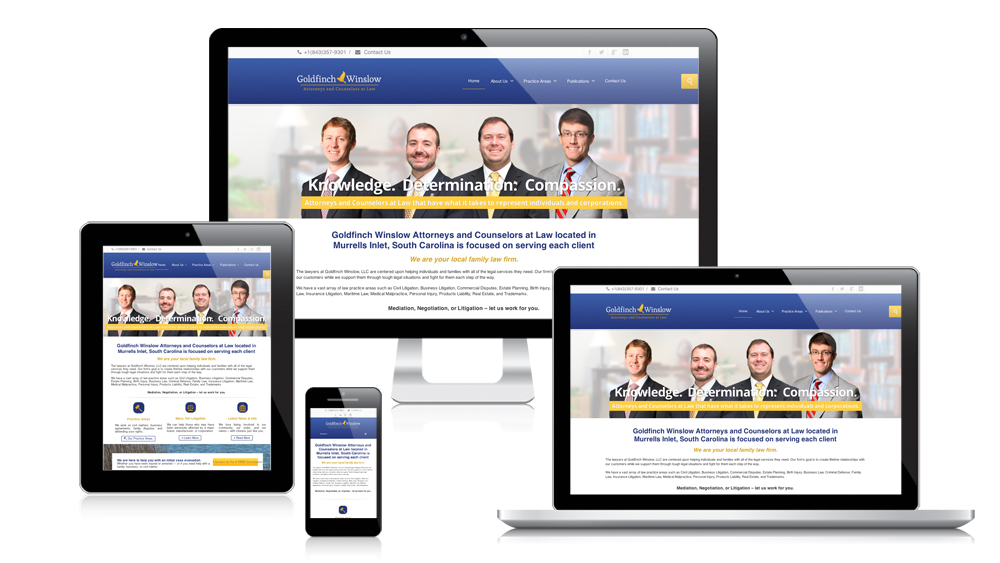 Goldfinch Winslow - Responsive Website Design