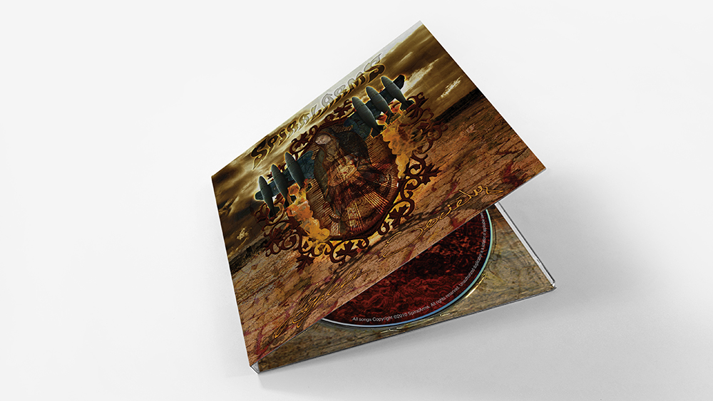Spiralarms - CD Design, Printing and Packaging