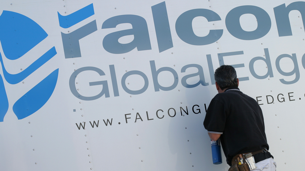 Falcon Global Edge - Cut Vinyl
