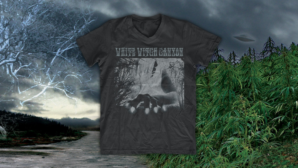 White Witch - Canyon - T-Shirt Design and Printing