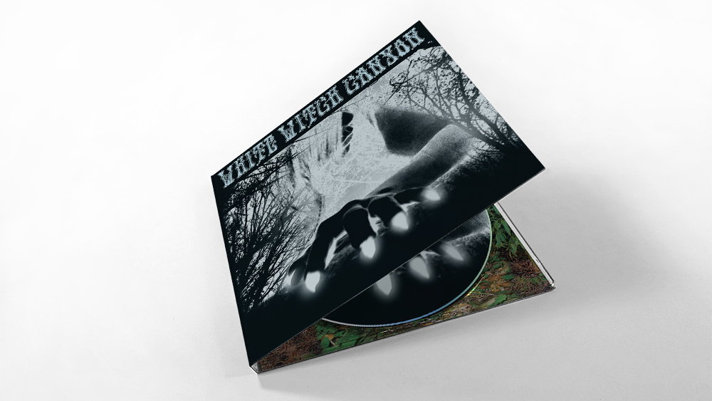 White Witch Canyon - CD Design, Printing and Packaging