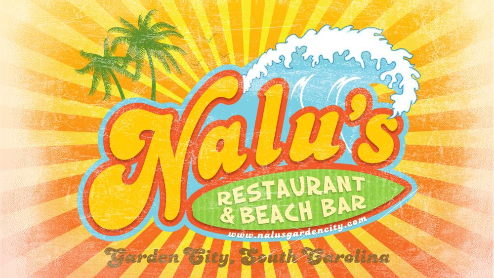 Nalu's Restaurant & Beach Bar - logo design