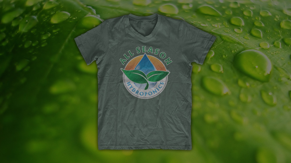 All Season Hydroponics - T-Shirt Design and Printing