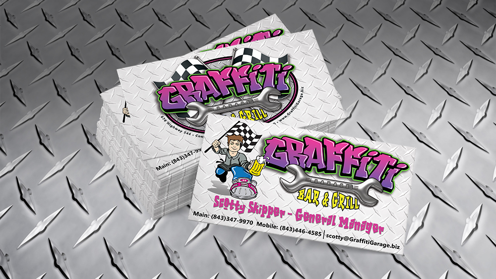 Graffiti Garage - business card