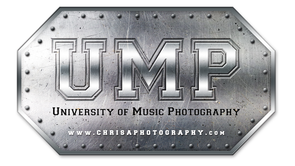University of Music Photography - logo design