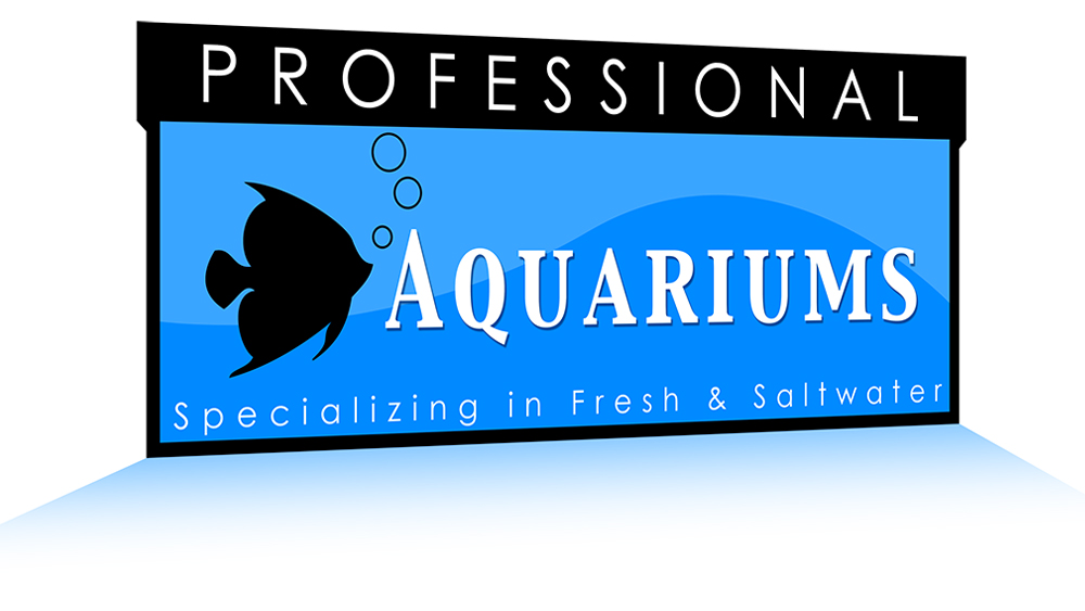 Professional Aquariums - logo design