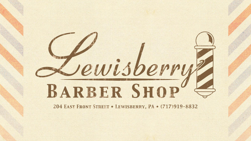 Lewisberry Barber Shop - logo design