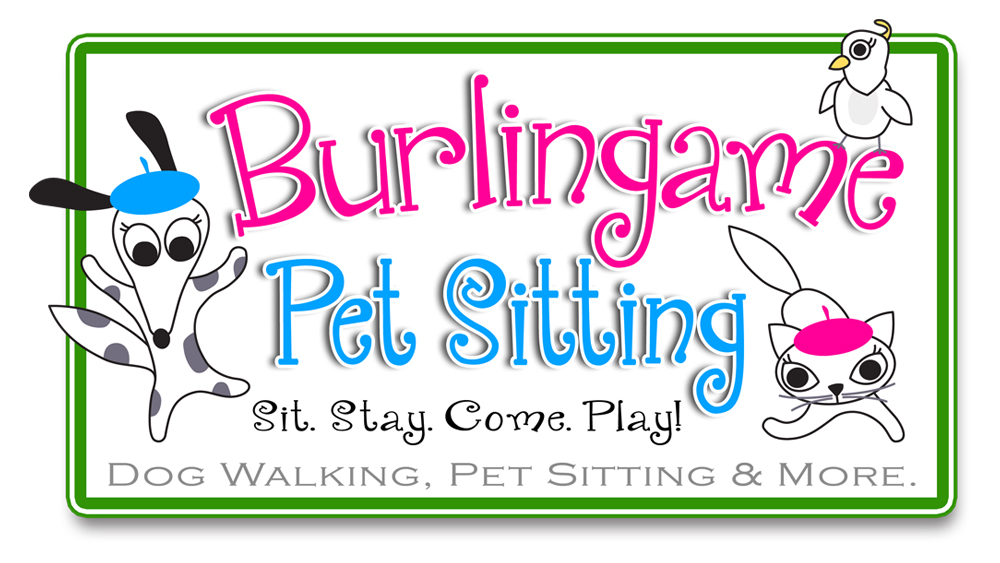 Burlingame Pet Sitting - logo design