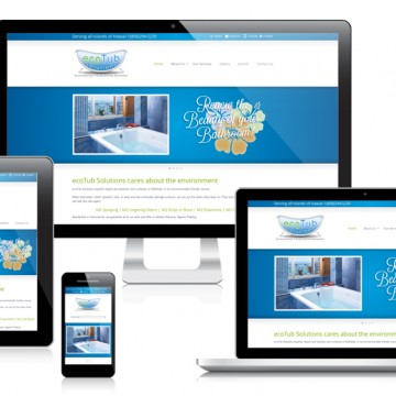 ecoTub Solutions - Responsive Website Design