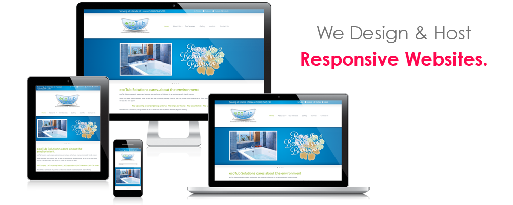 RESPONSIVE WEBSITE DESIGN & WEB HOSTING