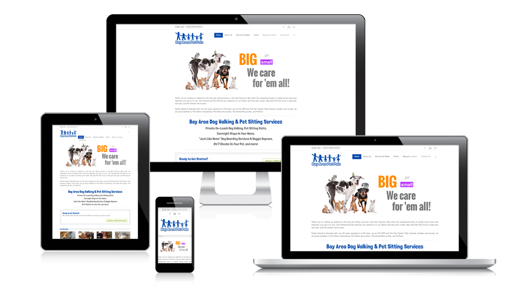 Bay Area Pet Pals - Responsive Web Design