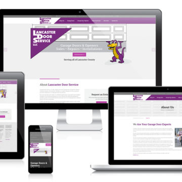 Lancaster Door Service - Responsive Website Design