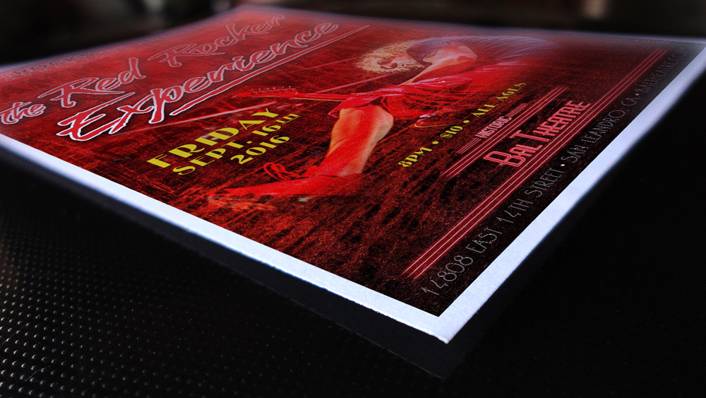 The Red Rocker Experience Poster