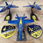 F18 Blue Angel Models by Terry Lauderdale