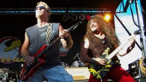 Brad Gillis and Terry Lauderdale on stage