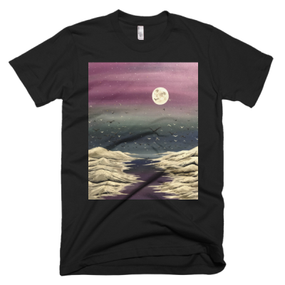 "People In Light Creations – ""So Many Flights"" – Short Sleeve Men's T-Shirt"