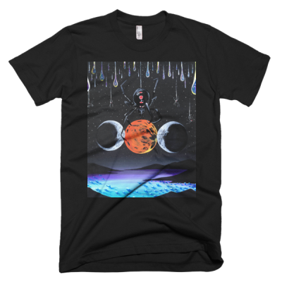 "People In Light Creations – ""The Three Goddesses"" – Short Sleeve Men's T-Shirt"