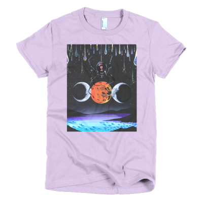 """People In Light Creations – """"The Three Goddesses"""" – Short Sleeve Women's T-Shirt"""