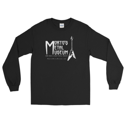 Morto's Metal Museum Long Sleeve Men's T-Shirt (Dark)
