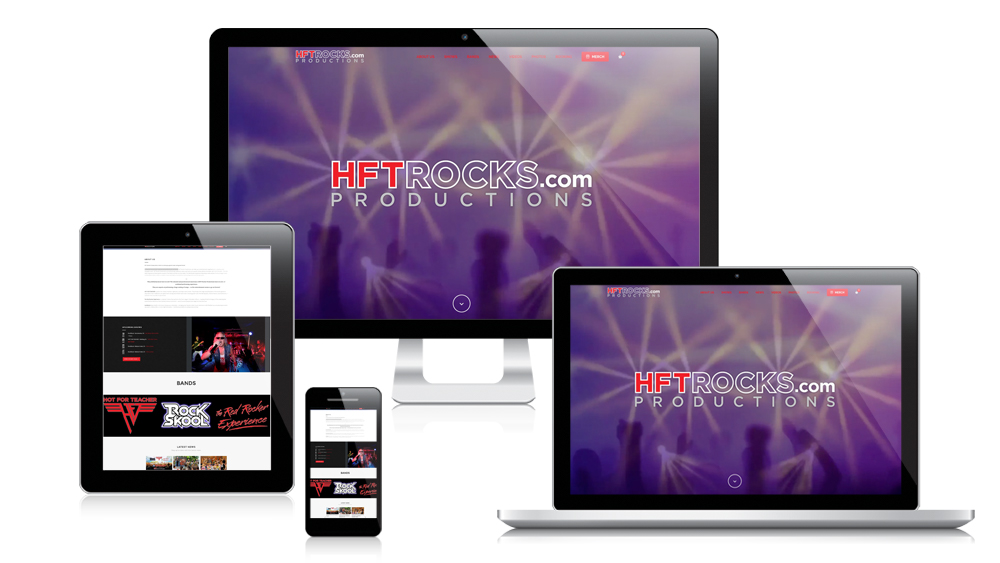HFTRocks - Responsive Website Design