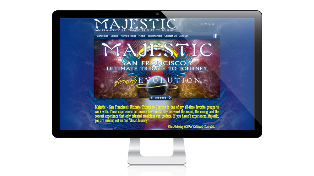 Majestic - Website Design