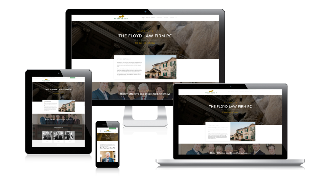 The Floyd Law Firm PC Responsive Website Design